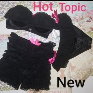 48092cc23b85 Hot Topic Intimates & Sleepwear | Red Rhumba Panties Sz Md Jrs New ...